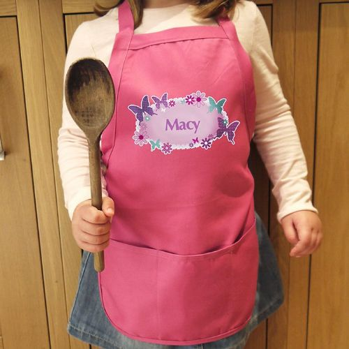 Personalised Butterfly Childs Apron